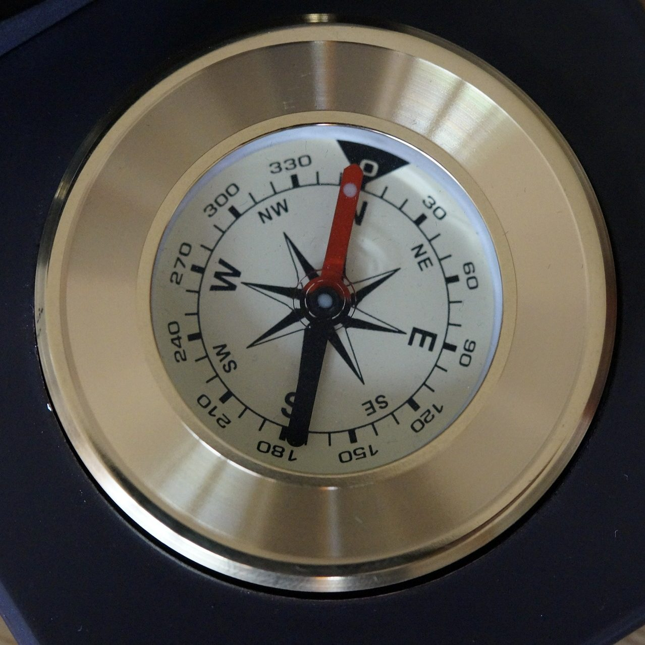 Magnetic-compass